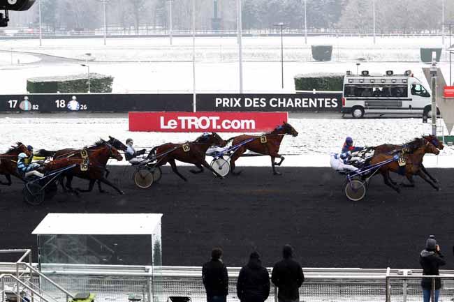 Arrivée quinté pmu PRIX DES CHARENTES à PARIS-VINCENNES