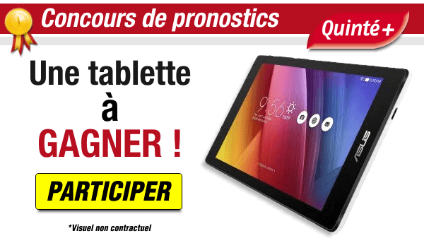 Concours de pronostics - 1 tablette android à gagner !