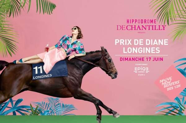 La photo de Affiche Du Prix De Diane Longines 2018 Hippodrome de Chantilly
