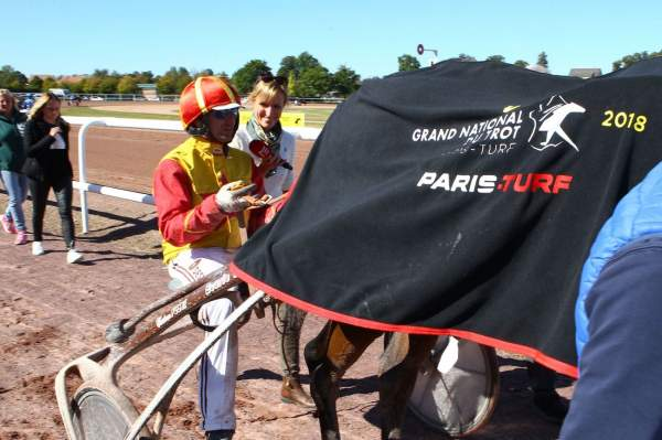 La photo de Ceylan Dairpet Quinté+ pmu 10eme étape GRAND NATIONAL DU TROT à Vire