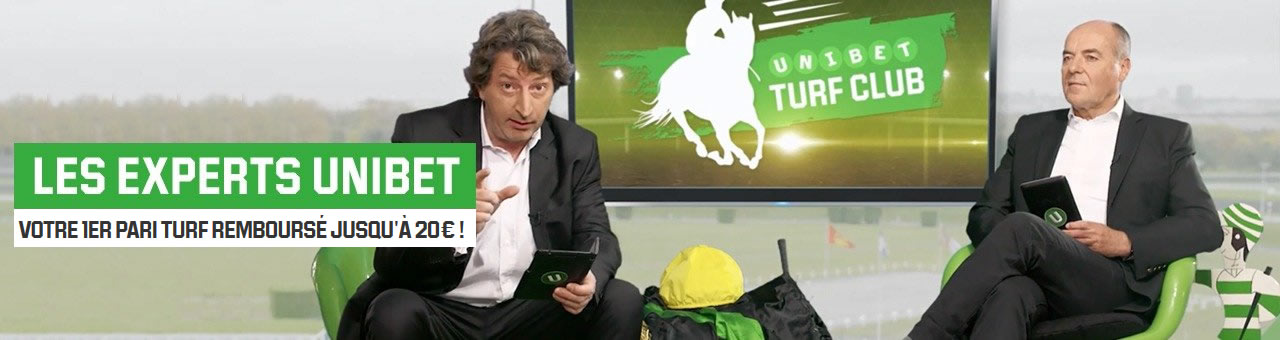 Unibet Turf Club avec Unibet.fr