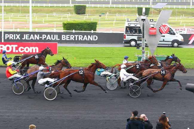 Arrivée quinté pmu PRIX JEAN-PAUL BERTRAND à PARIS-VINCENNES