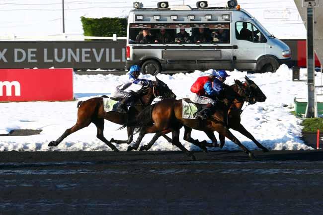 Photo d'arrivée de la course pmu PRIX DE LUNEVILLE à PARIS-VINCENNES le Jeudi 8 février 2018