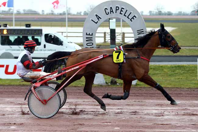 Arrivée quinté pmu GRAND NATIONAL DU TROT PARIS-TURF à LA CAPELLE