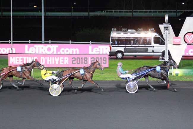 Photo d'arrivée de la course pmu PRIX DE NANTES à PARIS-VINCENNES le Mercredi 28 novembre 2018