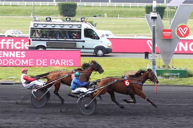 Photo d'arrivée de la course pmu PRIX DE LA LORRAINE à PARIS-VINCENNES le Samedi 13 avril 2019