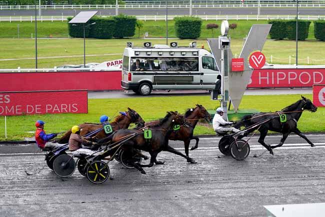Photo d'arrivée de la course pmu PRIX DE DREUX à PARIS-VINCENNES le Samedi 11 mai 2019
