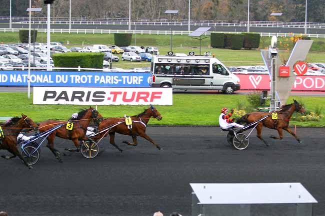 Arrivée quinté pmu FINALE GRAND NATIONAL DU TROT PARIS-TURF à PARIS-VINCENNES
