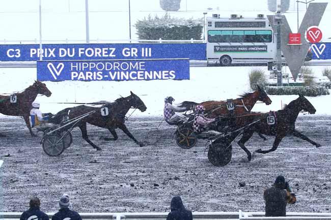 Arrivée quinté pmu PRIX DU FOREZ à PARIS-VINCENNES