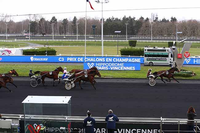 Arrivée quinté pmu PRIX DE CHALONS-EN-CHAMPAGNE à PARIS-VINCENNES