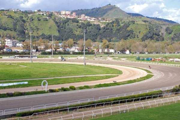 La photo de Naples piste de trot