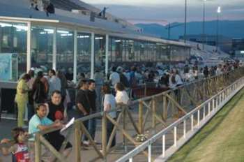 Photo Son Pardo Tribunes Hippodrome Public