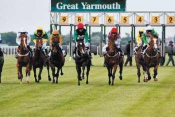 Photo Yarmouth stalles de départ