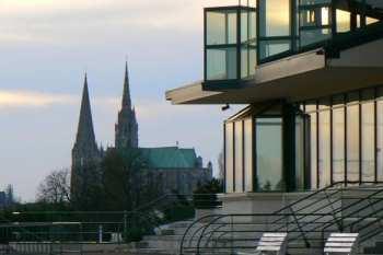 Photo Chartres Hippodrome Cathédrale
