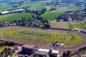 Photo Kuurne vue aérienne hippodrome
