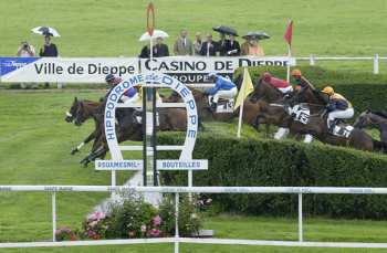 Photo Dieppe Poteau Obstacle Steeple