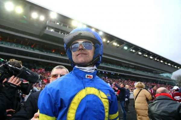La photo de Matthieu Abrivard Driver de Lionel dans le Grand Prix de France à Vincennes