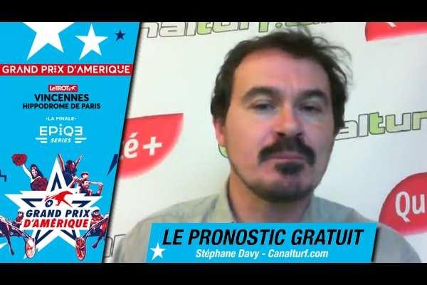 La photo de Le pronostic vidéo Grand Prix d'Amérique 2018 Stéphane Davy