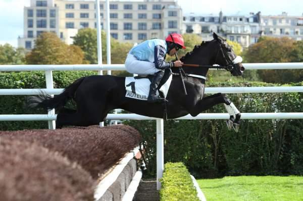 La photo de Want Of A Nail Course Pmu Prix Haras d'Etreham 2019 à Auteuil