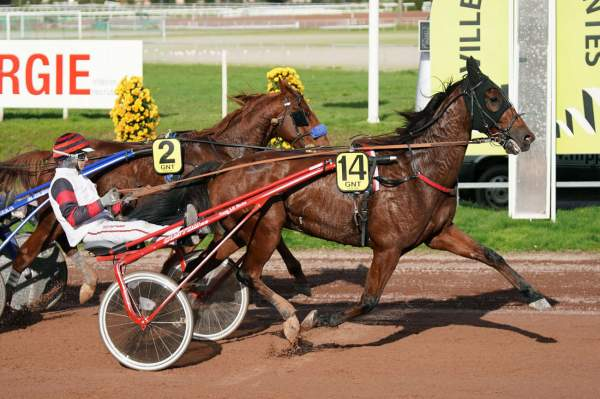 La photo de Cleangame Quinté+ Pmu Grand National du Trot Paris-Turf - 12eme étape du GNT à Nantes