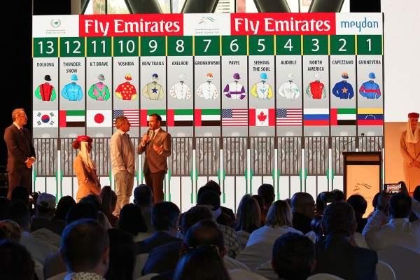 La photo de World Cup Dubai 2019 Tirage des places à la corde