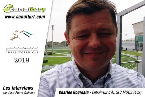 La photo de Interview Charles Gourdain - Al Shamoos Dubai World Cup 2019