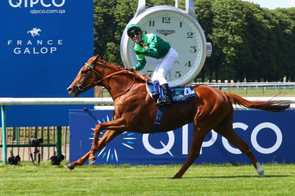 La photo de Sottsass Quinté+ Pmu Qipco Prix du Jockey Club 2019 à Chantilly