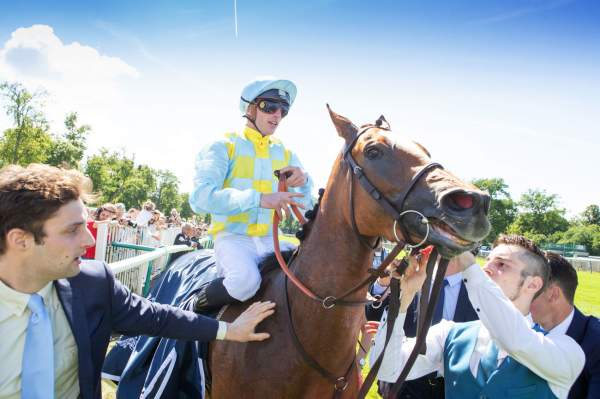 La photo de Channel Quinté+ Pmu Prix De Diane Longines 2019 à Chantilly