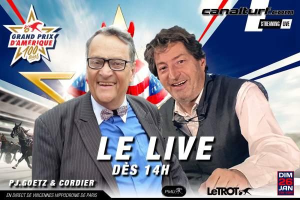 La photo de Le Live Spécial Pronostics Journée Grand Prix D'amérique 2020 En direct de Paris-Vincennes