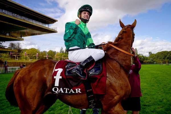 La photo de Sottsass Cristian Demuro, Qatar Prix de l'Arc de Triomphe 2020 à ParisLongchamp