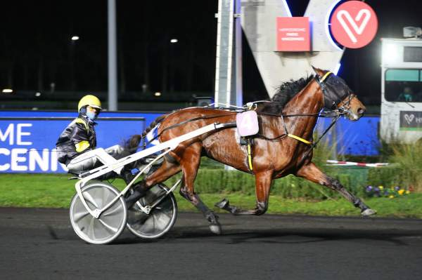 La photo de Hastronaute Course Pmu Pick5 Prix de Cogolin 2020 à Vincennes