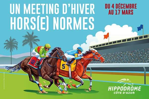 La photo de Meeting Hiver Cagnes-sur-mer Hippodrome de la Côte d'Azur
