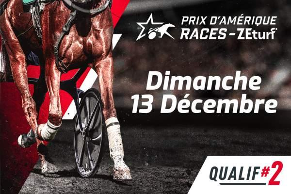 La photo de Prix D'amérique Races Zeturf 2020 Qualif 2
