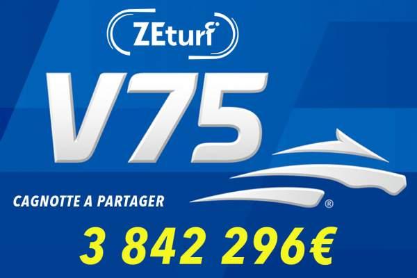 La photo de V75 Zeturf Du Samedi 4 Avril 2020
