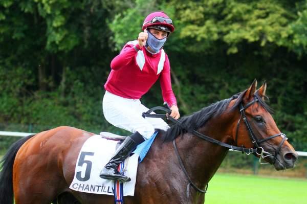 La photo de Mishriff Quinté+ Pmu Prix du Jockey Club 2020 à Chantilly