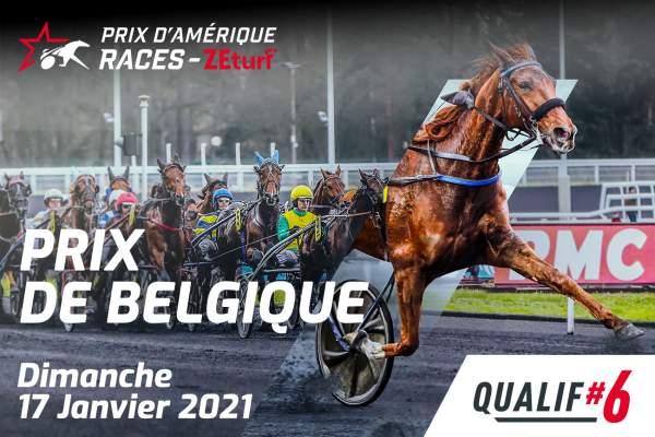 La photo de Prix D'amérique Races Zeturf Q6 - Prix De Belgique